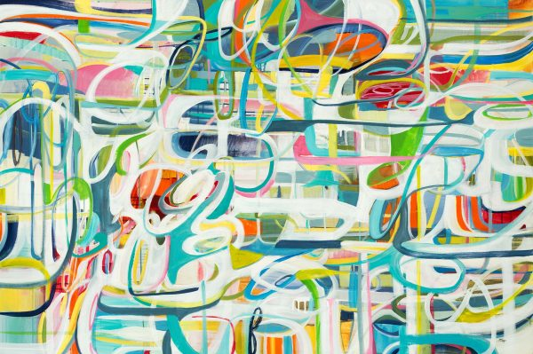 Modern Flow by Lisa Ridgers | Liquid Acrylic Art