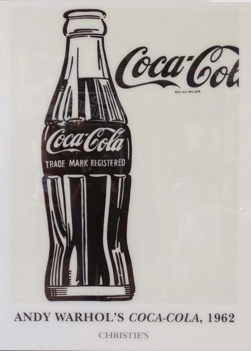 Andy Warhol's Coca Cola 1962 | Liquid Acrylic Art