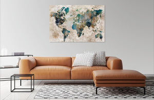 Celestial Map by Isabelle Z | Liquid Acrylic Art