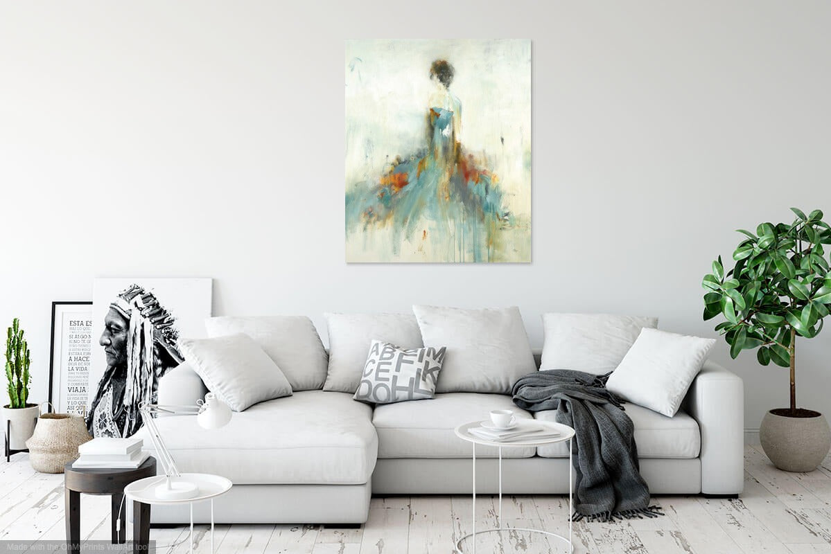 Elegant Moments by Lisa Ridgers | Liquid Acrylic Art
