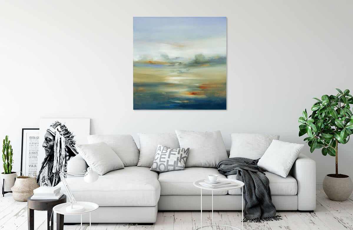 Subtle Scenery III by Lisa Ridgers | Liquid Acrylic Art