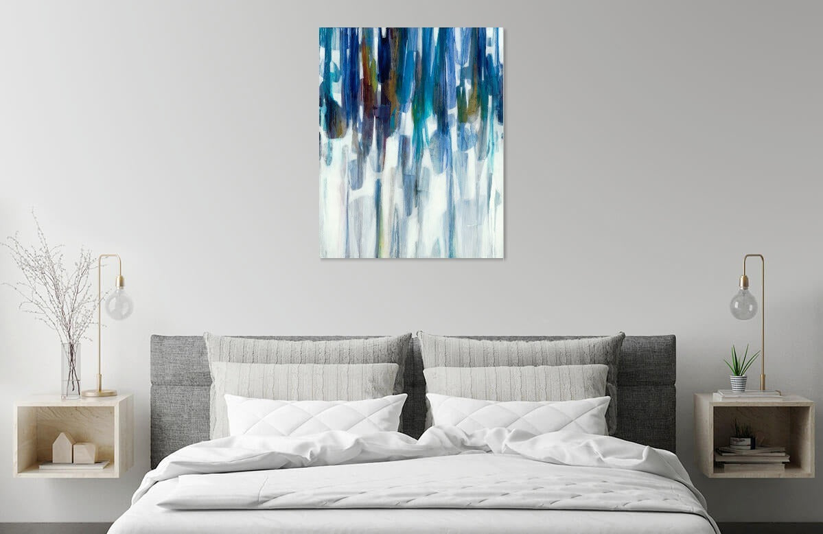 Windchimes by Liz Jardine | Liquid Acrylic Art
