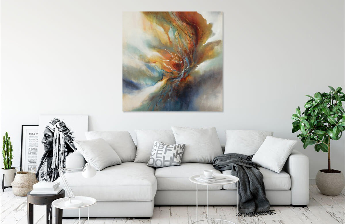 Autumn Flicker by K. Nari | Liquid Acrylic Art
