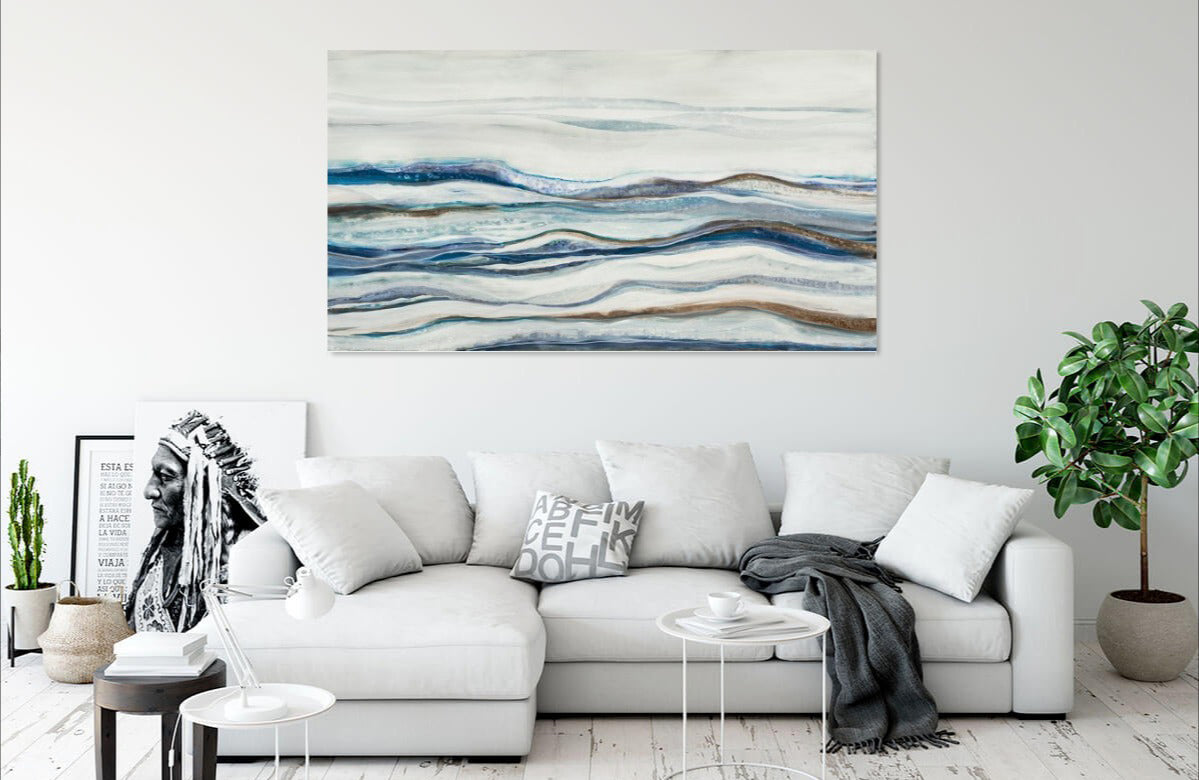 Shifting Sands by Liz Jardine | Liquid Acrylic Art