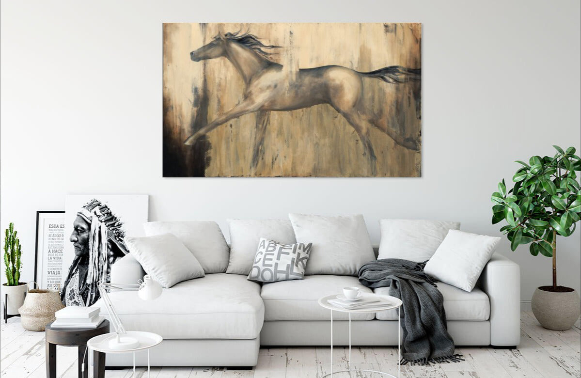 Stride by Dina D'Argo | Liquid Acrylic Art