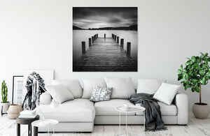 Coniston Jetty by Shaun Walby | Liquid Acrylic Art