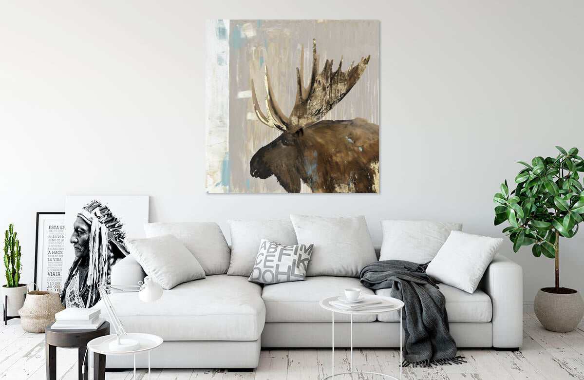 Moose Tails I by Aimee Wilson | Liquid Acrylic Art