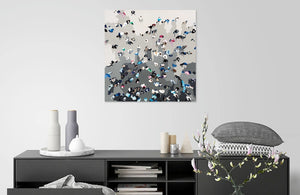 Crowd Sourcing by BethAnn Lawson | Liquid Acrylic Art