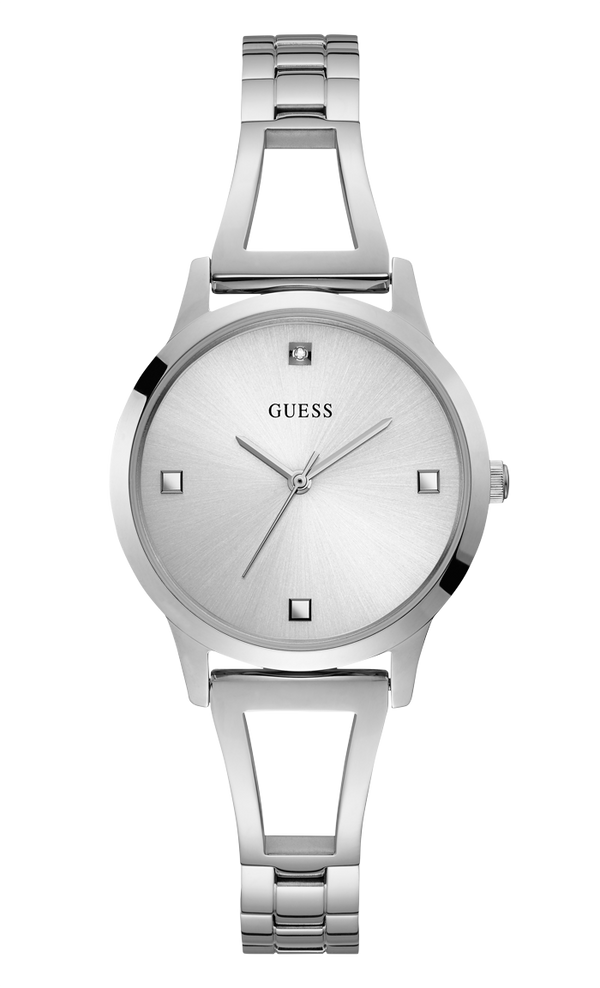 Guess Women's Petite Diamond Analog Watch