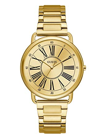 Guess Women's Gold-tone Analog Watch