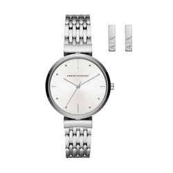 Armani Exchange Women's Zoe Watch with Earrings