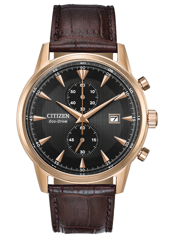 Citizen Men's Eco Drive Corso Dress Chronograph Watch