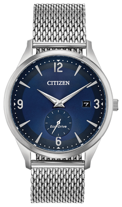 Citizen Men's Eco-Drive Simple Cobalt Watch