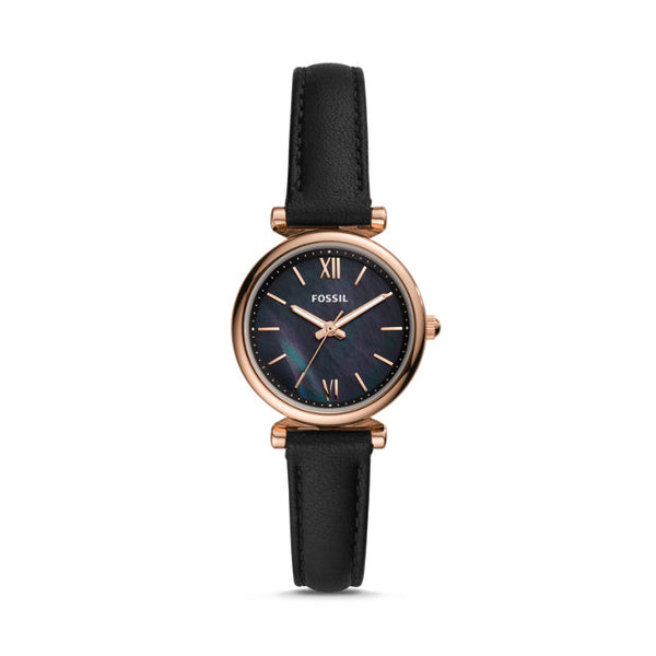 Fossil Women's Carlie Mini Leather Watch