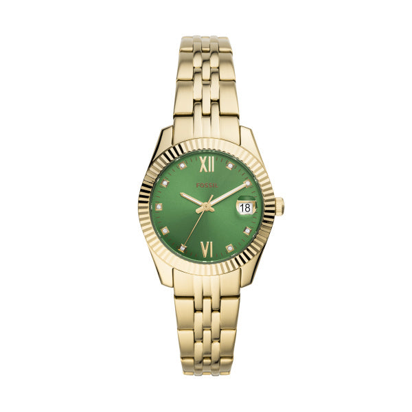 Fossil Women's Scarlette Mini Three-Hand Date Watch