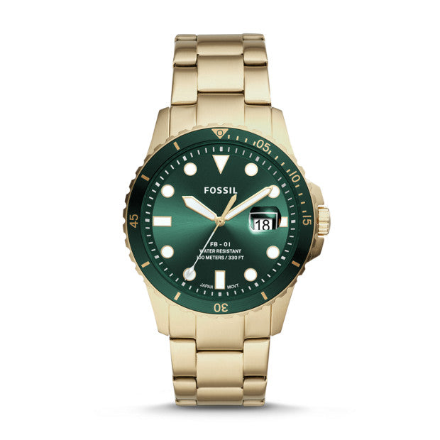 Fossil Men's FB-01 Three-Hand Date Watch