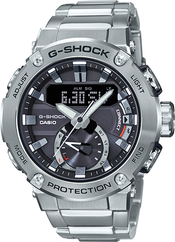 G-Shock Men's G-Steel Carbon Core Guard Connected Watch