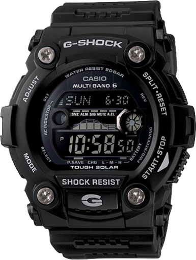 G-Shock Men's Solar Atomic Black Digital Sport Watch