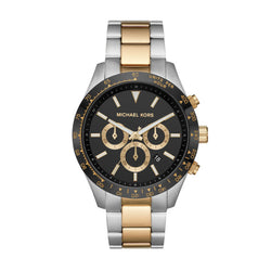 Michael Kors Men's Oversized Layton Two-Tone Watch
