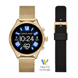 Micheal Kors Gen 5 Lexington Watch Set with Extra Strap