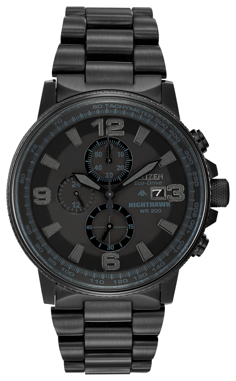 Citizen Men's Eco-Drive Nighthawk Watch