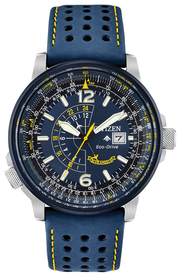 Citizen Men's Eco-Drive Nighthawk Blue Angels Watch