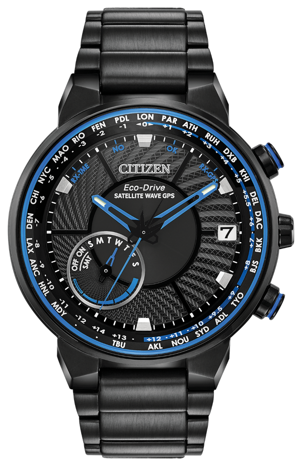 Citizen Men's Eco-Drive Satellite Wave GPS Watch