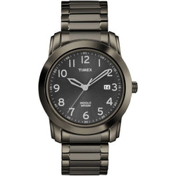 Timex Men's Classic Black Sunray Dial Watch