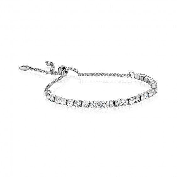 ARZ Adjustable Steel Tennis Bracelet