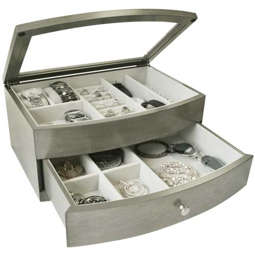 Gunther Mele Wood Jewelry Case