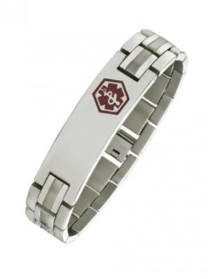 Alpine Titanium Medical ID Bracelet