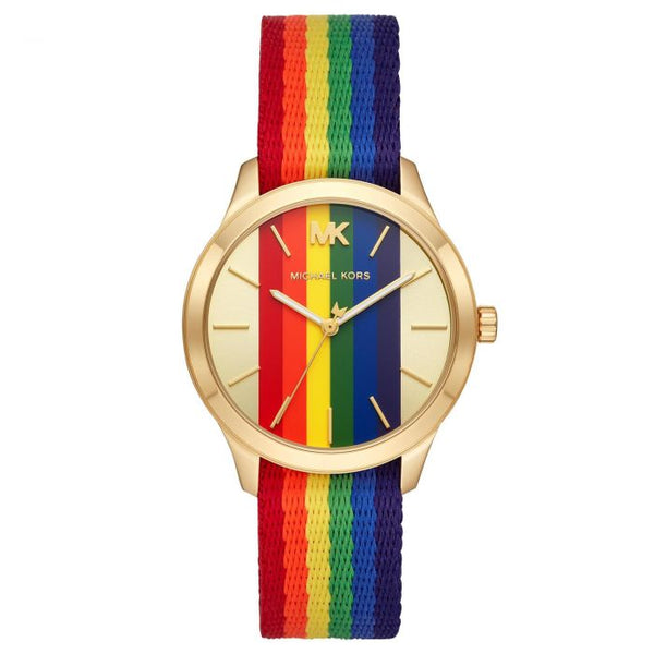 Michael Kors Women's Runaway Rainbow Watch