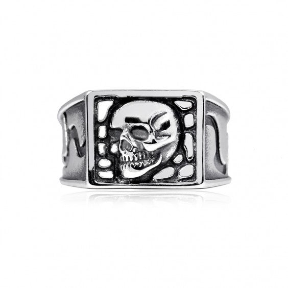 ARZ Men's Steel Ring