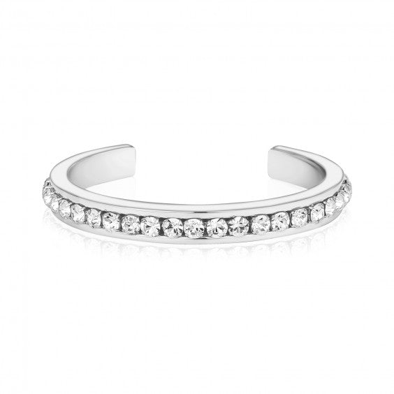 ARZ Stainless Steel Crystal Bangle