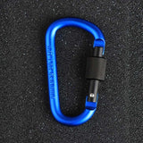 8cm Multi-color Aluminum Alloy Carabiners
