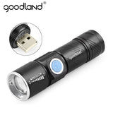 Goodland USB  Handy Rechargeable LED Torch