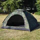 2 Persons Single Layer Camouflage Outdoor Camping Hiking Travel Napping Tent