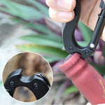 5 In 1 Multifunctional Folding Knife Carabiner