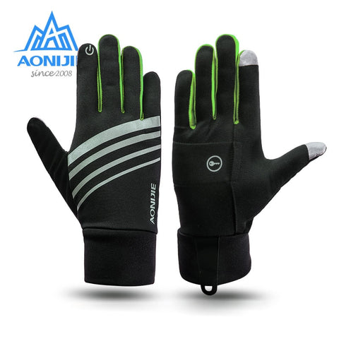 AONIJIE Winter Unisex Thermal Fleece Gloves
