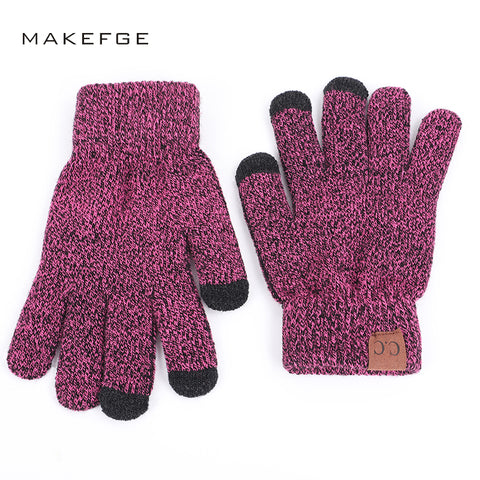 2019 Cashmere Unisex MAKEFGE Gloves