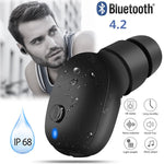 Waterproof Wireless Bluetooth for iPhone Samsung Android