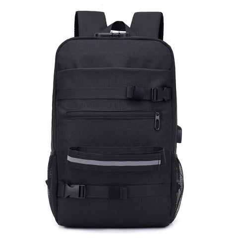 Anti-theft Laptop Backpack with Lock and USB Port