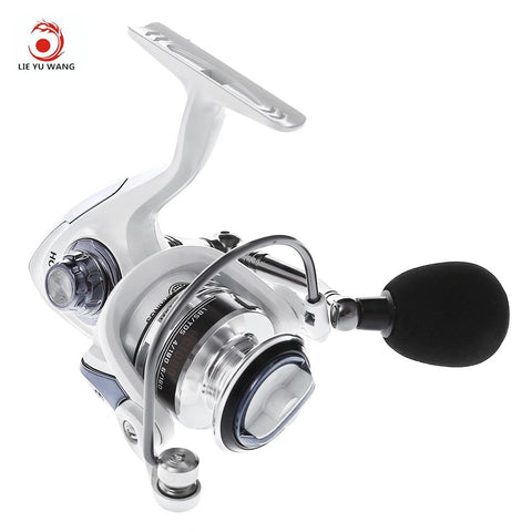 LIEYUWANG 1000-7000 Series with Aluminum Spool Automatic Folding for Sea Fishing Saltwater