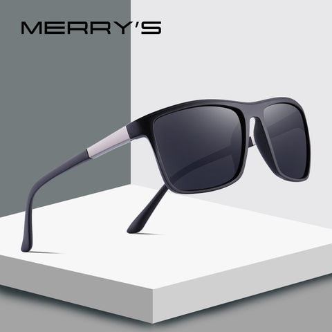 MERRYS DESIGN Men Square Polarized Sunglasses
