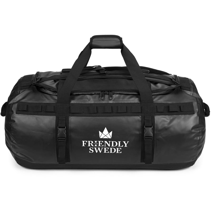 Sandhamn Black 90L Duffel Bag