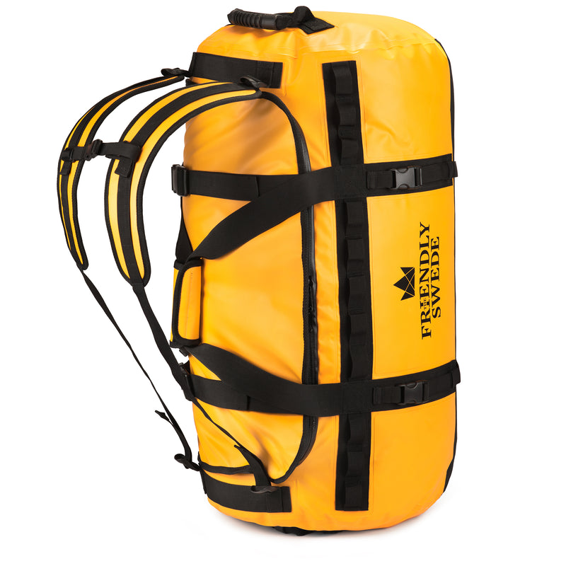 Yellow Duffel 90L Bag