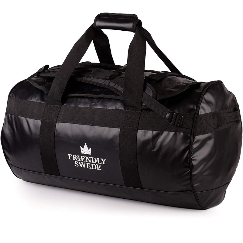 Sandhamn Black Duffel Bag