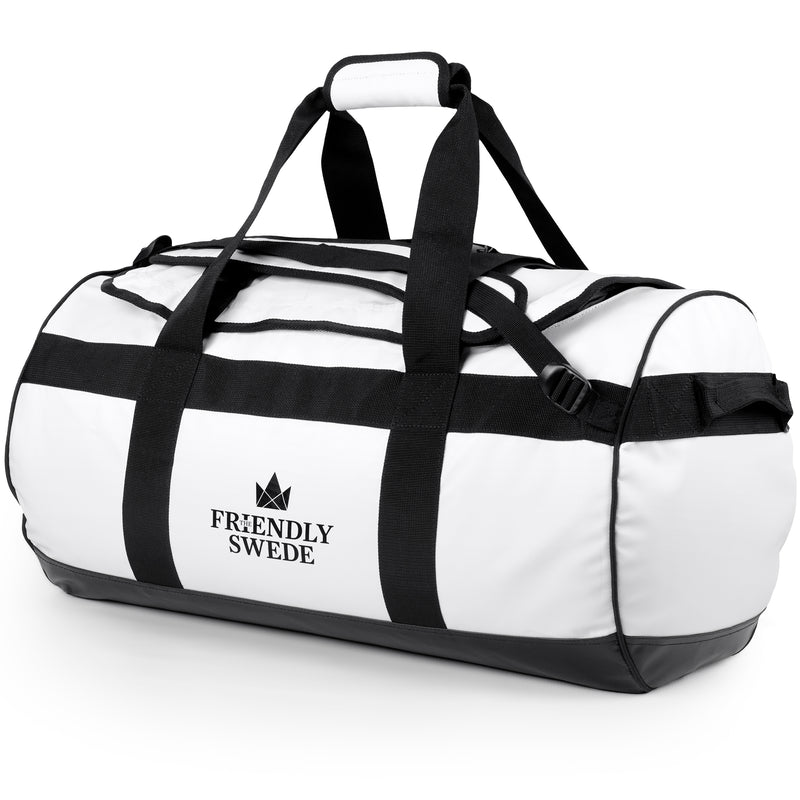 Sandhamn White Duffel Bag