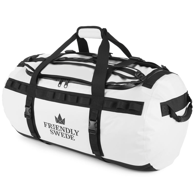 White Duffel 90L Bag