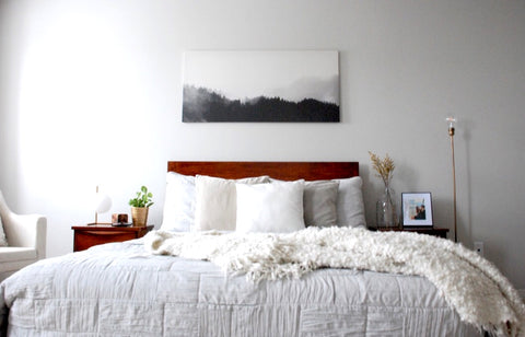 home staging, home decor, bedroom ideas, mid century modern